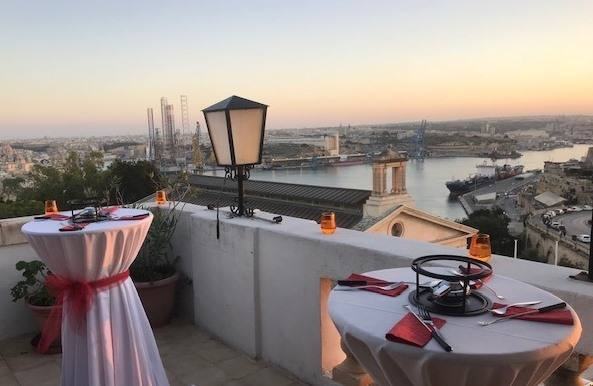 Warm Your Heart, Stomach and Soul at The Highest Restaurant in Valletta This Valentine's